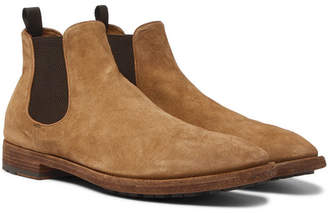 Officine Creative Princeton Suede Chelsea Boots