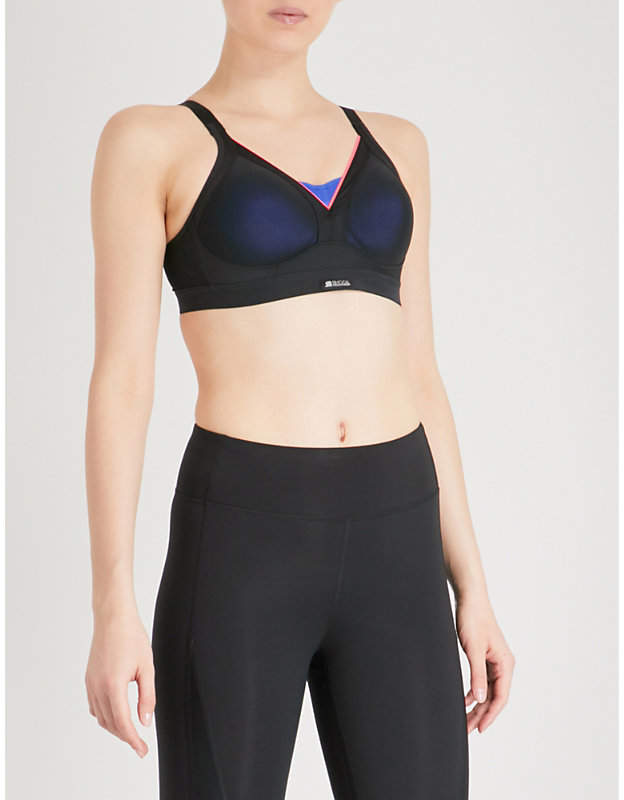 Shock Absorber Active Shaped Support stretch-jersey sports bra