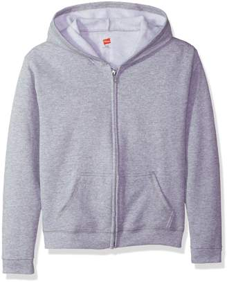 Hanes Big Girls' Comfortsoft Ecosmart Full-Zip Hoodie