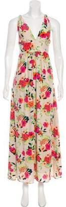 Yumi Kim Floral Print Silk Dress w/ Tags