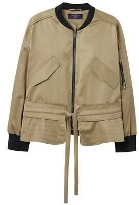 Violeta BY MANGO Cargo bomber jacket
