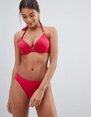 Dorina Red Super Push Up Bikini Top