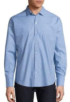 Zachary Prell Plaid Long Sleeve Shirt