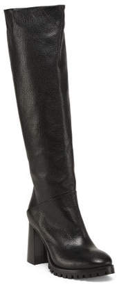 Made In Italy Tall Slouch Boots