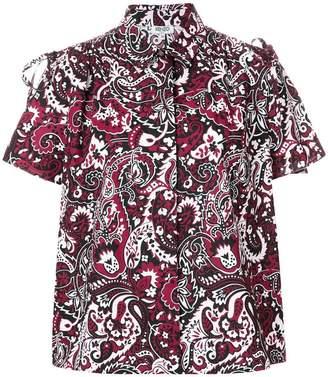 Kenzo paisley print blouse