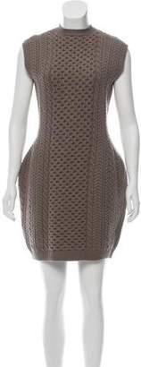 Stella McCartney Cable Knit Wool Sweater Dress