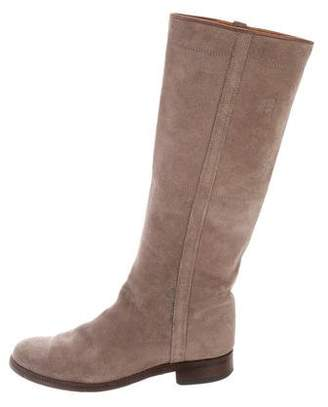 Penelope Chilvers Suede Knee-High Boots