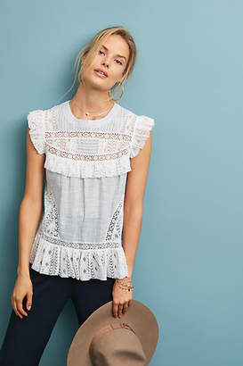 Maeve Frontier Lace Top