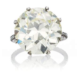Fred Leighton Old European Cut Diamond Ring
