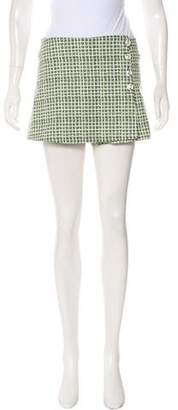 Tory Burch Patterned Short Skort