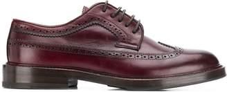Brunello Cucinelli brogue detail Derby shoes