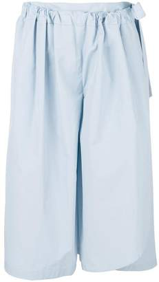 Chalayan cropped wrap trousers