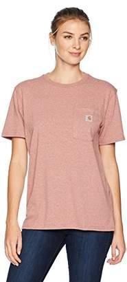 Carhartt Women's Wk87 Workwear Pocket Short Sleeve T Shirt