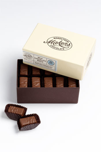 Nordstrom Makers Chocolate Milk Chocolate Mints (20 Pieces)