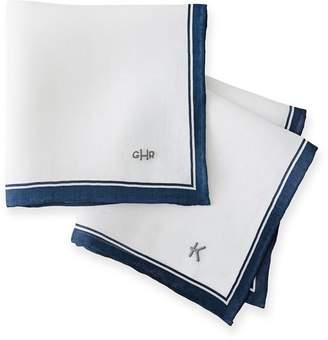 Mark And Graham Linen Handkerchief