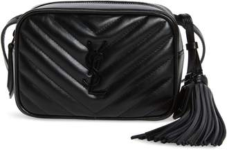 Saint Laurent Lou Matelasse Leather Belt Bag