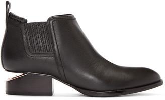 Alexander Wang Black Kori Ankle Boots $520 thestylecure.com