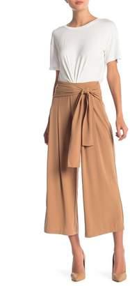 Elodie Tie Sash Wide Leg Pants