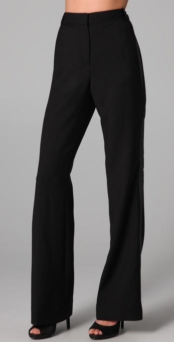 Diane Von Furstenberg Tailor Tuxedo Pants