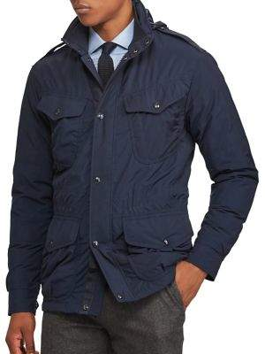 at Saks Fifth Avenue · Polo Ralph Lauren Double-Vented Utility Down Jacket
