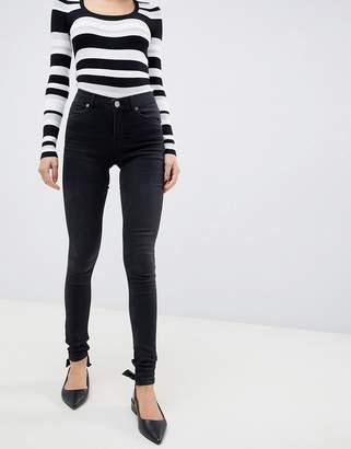 Oasis Jade Washed Black Skinny Jeans