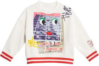 Burberry London Polaroid print sweatshirt