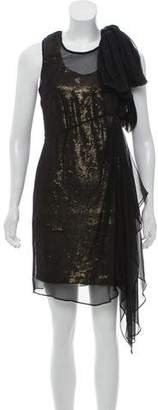 Robert Rodriguez Sequined Mini Dress w/ Tags