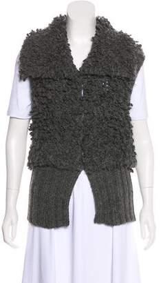 Alexander Wang Wool-Blend Bouclé Vest