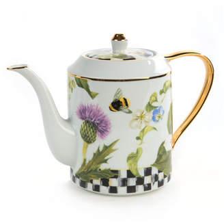 Mackenzie Childs MacKenzie-Childs Thistle & Bee Teapot