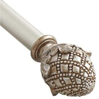 Croscill Anastasia Decorative Curtain Single Rod
