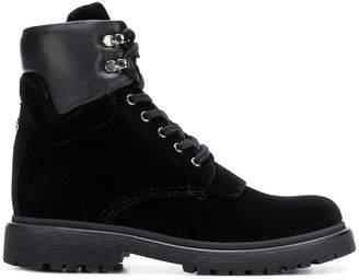 Moncler velvet ankle boots