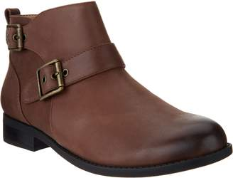 Vionic Leather Boots with Buckle Detail - Logan