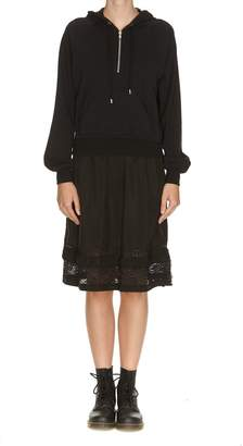 Moschino Lace Panel Dress