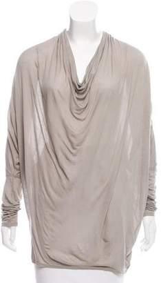 Helmut Lang Long Sleeve Jersey Top