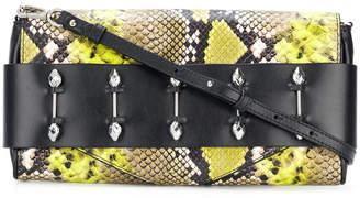 Just Cavalli snake effect shoulder bag