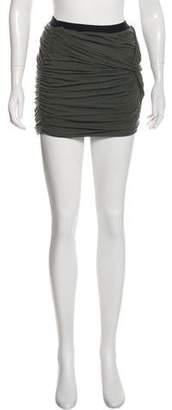 IRO Drape Mini Skirt