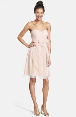 Jenny Yoo Wren Convertible Tulle Fit & Flare Dress