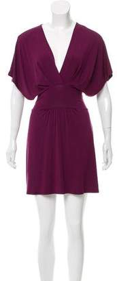 Heidi Klein Surplice Neck Mini Dress