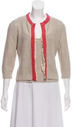 Valentino Lace-Trimmed Cardigan Sets