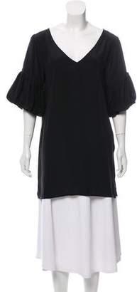 Geren Ford Silk V-Neck Tunic