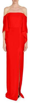 Roland Mouret Octon Off-the-Shoulder Column Dress