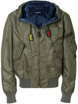 Dolce & Gabbana hooded jacket