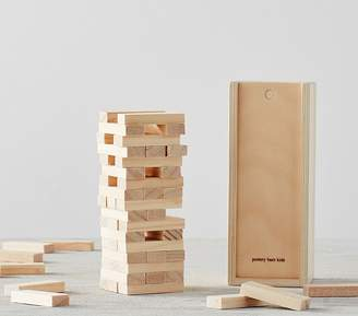 Pottery Barn Kids Family Game, Wooden Stacking Game