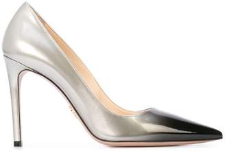 Prada tonal stiletto pumps