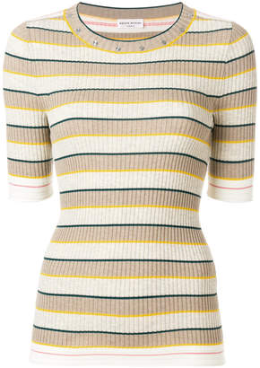 Sonia Rykiel slim striped jumper