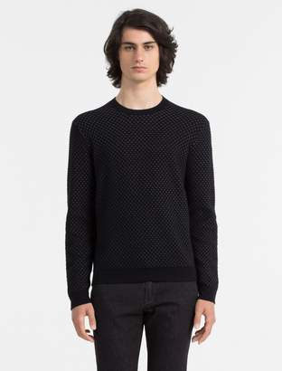 Calvin Klein slim fit sky crewneck sweater