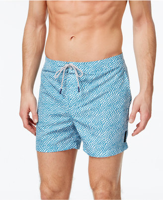 Michael Kors Men's Shell Print Board Shorts $98 thestylecure.com
