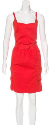 Narciso Rodriguez Sleeveless Knee-Length Dress