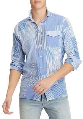 Polo Ralph Lauren Patchwork Poplin Shirt