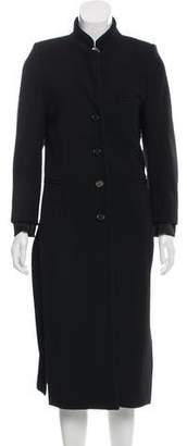 Ann Demeulemeester Longline Wool-Blend Coat